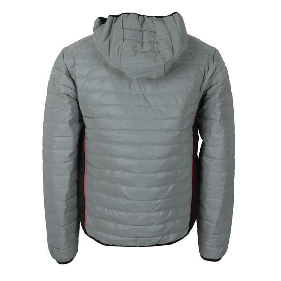 Nicce Mens Silver Chromo Reflective Jacket main image
