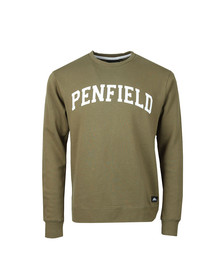 Penfield Mens Green Stowe Sweat