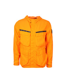 Marshall Artist Mens Orange Garment Dyed Field Jacket