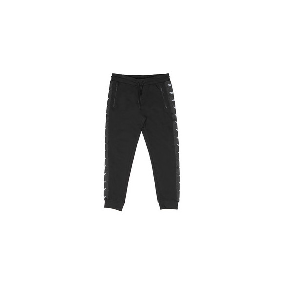 Emporio Armani Mens Black Eagle Taping Jogger main image