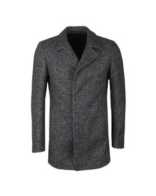 Remus Mens Grey Lohmann Overcoat