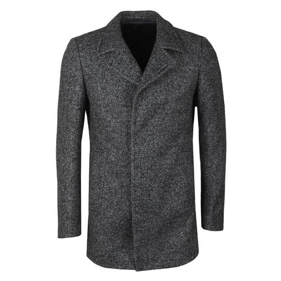 Remus Mens Grey Lohmann Overcoat