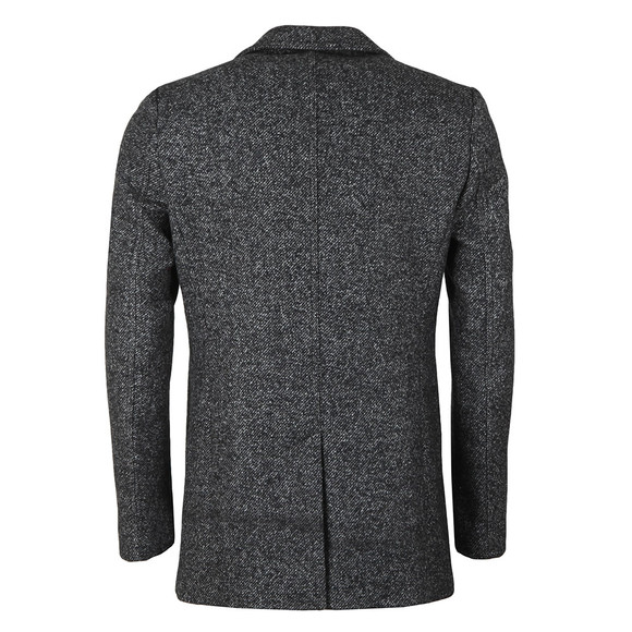 Remus Mens Grey Lohmann Overcoat main image