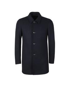 Remus Mens Blue Rowan Overcoat
