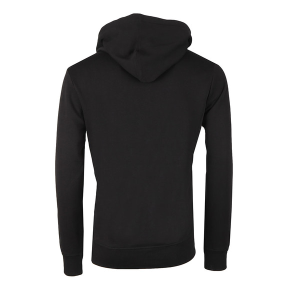 Calvin Klein Jeans Mens Black Institutional Chest Hoodie main image