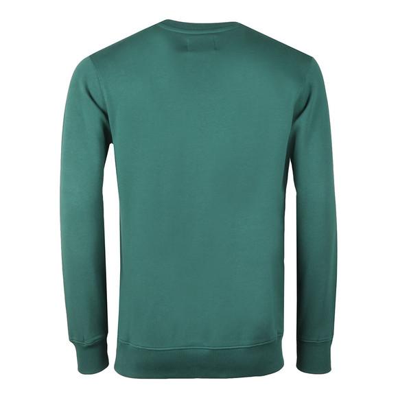 Calvin Klein Jeans Mens Green Monogram Logo Sweatshirt main image