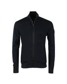 BOSS Mens Blue Casual Zelda Full Zip Knit
