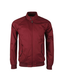 Ben Sherman Mens Red Harrington Jacket