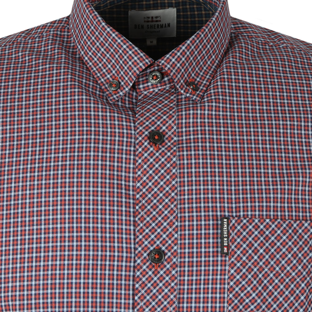 LS Mini House Gingham Shirt main image