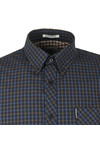 Ben Sherman Mens Brown LS House Check Shirt