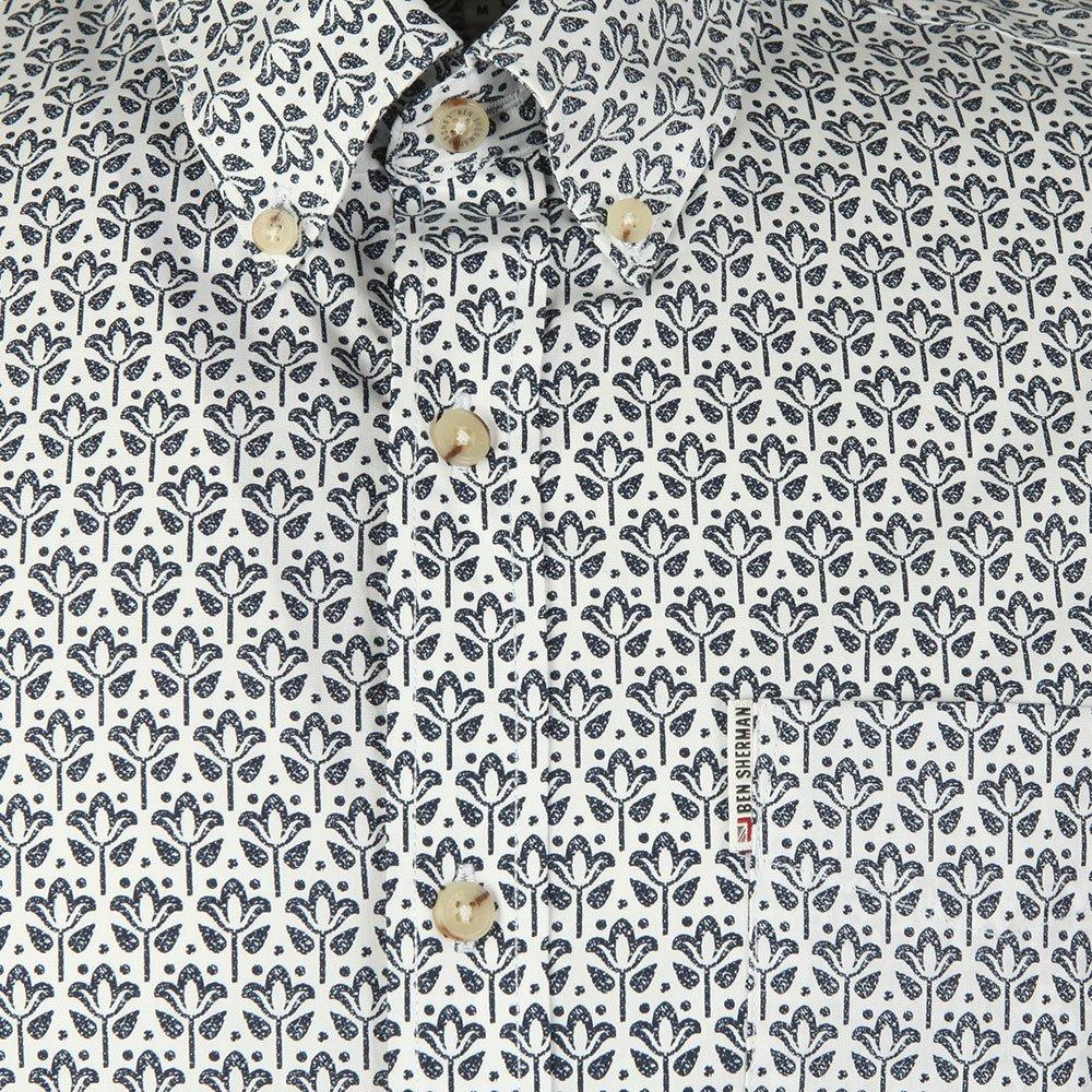 LS Distressed Wallpaper Shirt main image