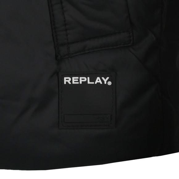 Replay Mens Black M8927 Gilet main image