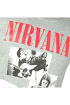 Replay Mens Grey Nirvana Sweatshirt
