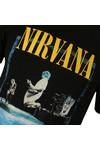 Replay Mens Black Nirvana Print Tee