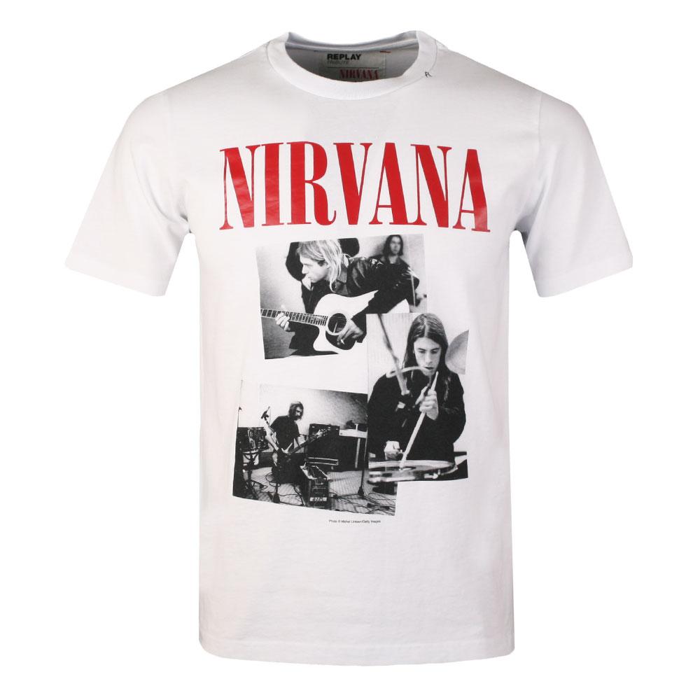 S/S Nirvana Print Tee main image