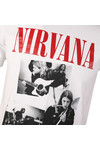 Replay Mens White S/S Nirvana Print Tee
