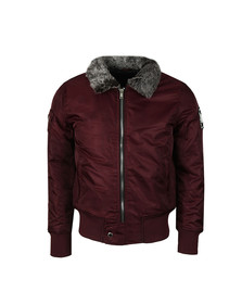 Good For Nothing Mens Red Aviator Jacket