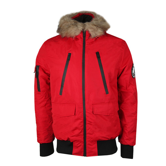 Good For Nothing Mens Red High Risk Artic Bomber main image