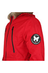 Good For Nothing Mens Red High Risk Artic Bomber