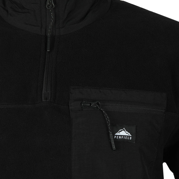 Penfield Mens Black Yuma Fleece main image