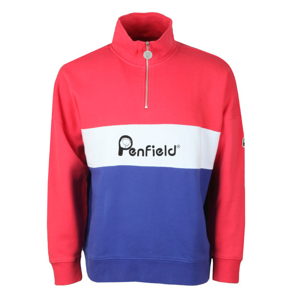 Penfield Mens Pink Cameron Sweat main image
