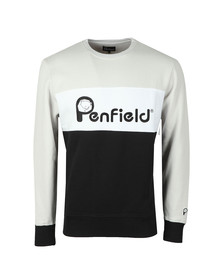 Penfield Mens Silver Hudson Sweat
