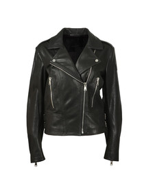 Belstaff Womens Black Marving T Leather Blouson