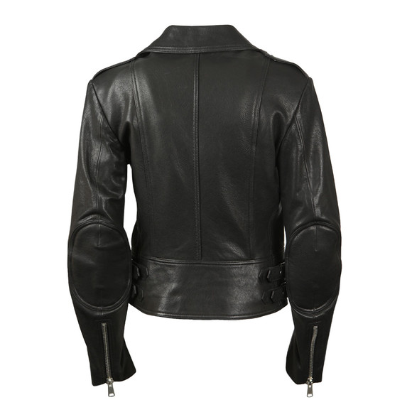 Belstaff Womens Black Marving T Leather Blouson main image