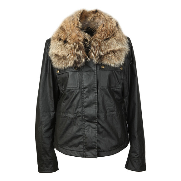 Belstaff Womens Black Guildford Wax Jacket