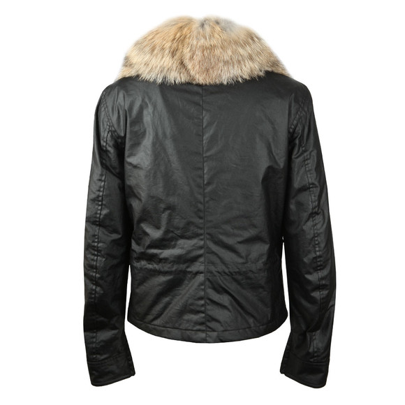 Belstaff Womens Black Guildford Wax Jacket main image