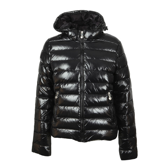 Pyrenex Womens Black Spoutnic Shiny Jacket main image
