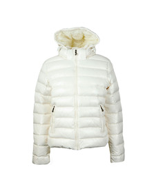 Pyrenex Womens White Spoutnic Shiny Jacket