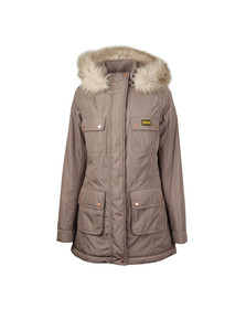 Barbour International Womens Beige Imatra Jacket