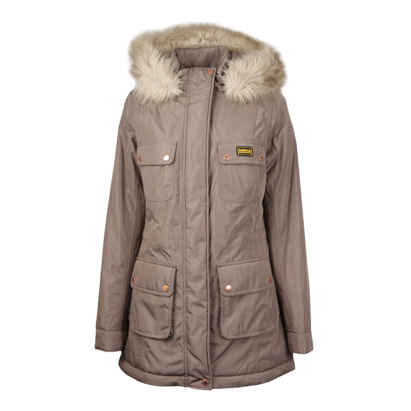Barbour International Womens Beige Imatra Jacket main image