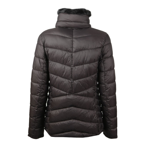 Barbour International Womens Black Autocross Quilted Jacket main image