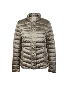Barbour Lifestyle Womens Beige Vartersay Quilted Jacket