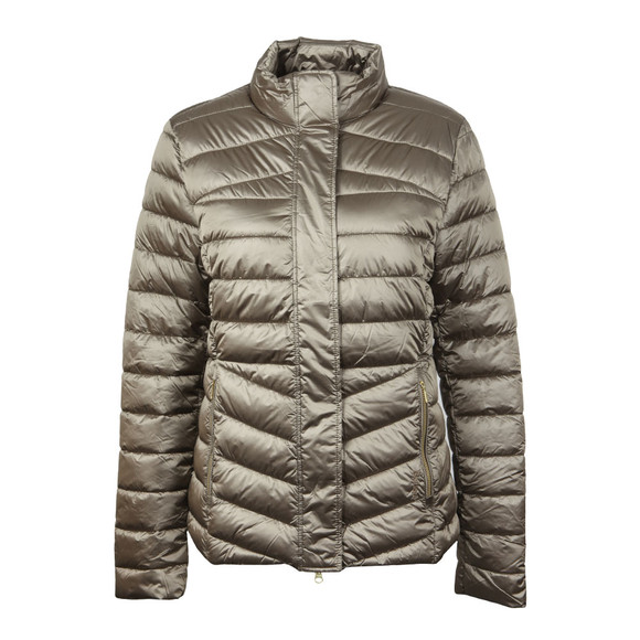 Barbour Lifestyle Womens Beige Vartersay Quilted Jacket main image