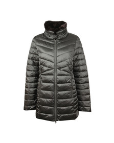 Barbour Lifestyle Womens Grey Lomond Quilted Jacket