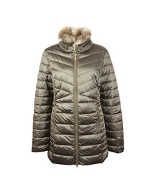 Barbour Lifestyle Womens Beige Lomond Quilted Jacket