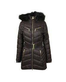 Barbour International Womens Black Grand Quilted Jacket