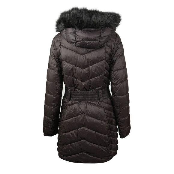 Barbour International Womens Black Grand Quilted Jacket main image