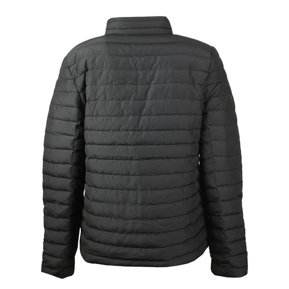 Calvin Klein Jeans Womens Black Reversible Down Puffer Jacket main image