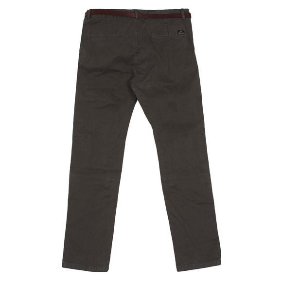Scotch & Soda Mens Grey Chino In Stretch Cotton