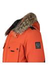 Belstaff Mens Orange Expedition Parka With Fur