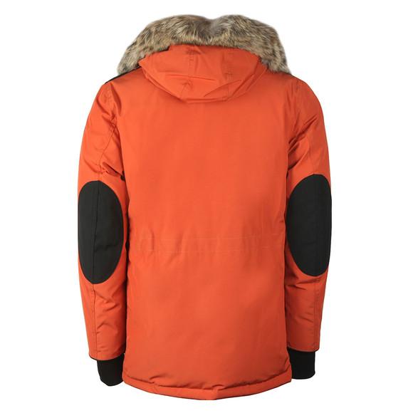 Belstaff Mens Orange Expedition Parka With Fur main image