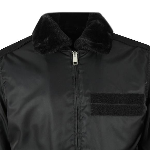 Diesel Mens Black W-Slotkin Jacket main image