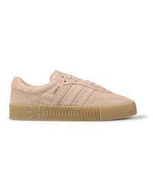 adidas Originals Womens Pink Sambarose Trainer