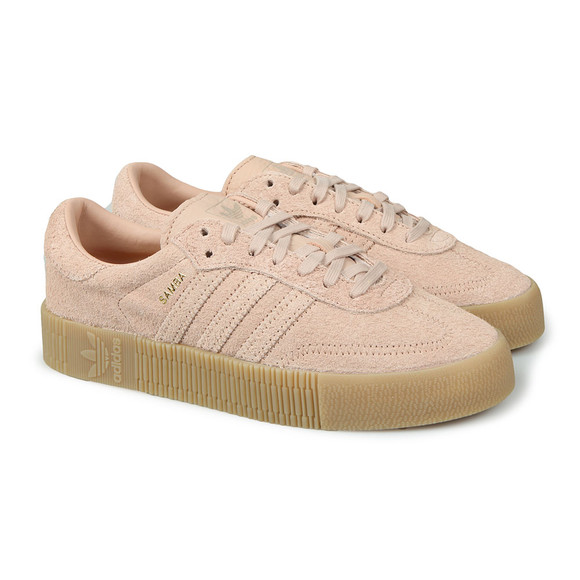 adidas Originals Womens Pink Sambarose Trainer main image