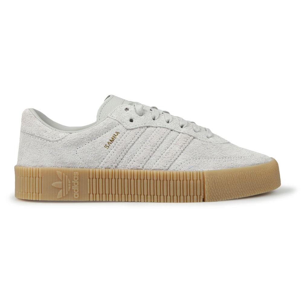 2ceb2f801b88 adidas Originals Womens Grey Sambarose Trainer