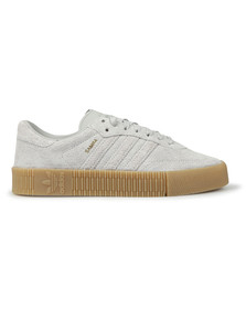 adidas Originals Womens Grey Sambarose Trainer